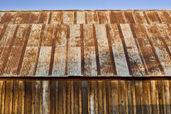 Rusty barn roof Royalty Free Stock Photo