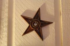 Rusty Barn Star Images libres de droits