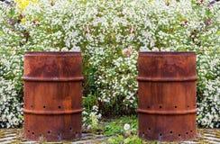 Rusty Barrel Fotografering för Bildbyråer