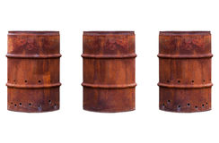 Rusty Barrel Stock Photos