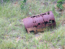 Rusty Barrel Stock Photography