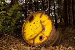 Rusty barrel Stock Photos