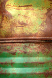 Rusty barrels royalty free stock photo