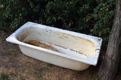 Rusty bathtub Stock Photography