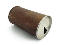 Rusty Beer Can Royalty Free Stock Photography