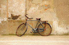 Rusty Bicycle Stock Photo