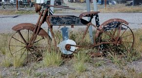 Rusty bike from Montana Stock Photos