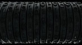 Rusty binary digit wheels Stock Image