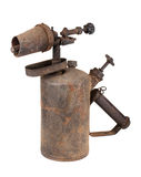 Rusty blowtorch Royalty Free Stock Photography