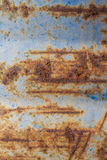 Rusty Blue Metal Foto de archivo