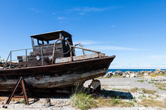 Rusty boat Royalty Free Stock Images