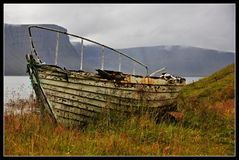 Rusty boat Royalty Free Stock Photos
