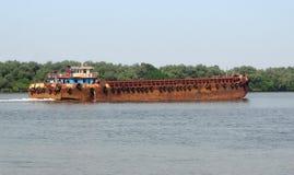 Rusty boat Stock Image