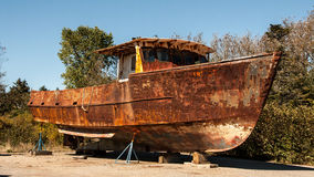 Rusty boat Royalty Free Stock Image