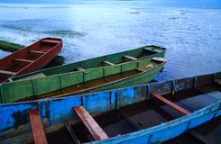 Rusty boats Royalty Free Stock Images