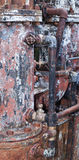 Rusty boiler Stock Image
