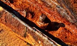 Rusty bolt Stock Image