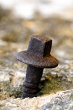 Rusty bolt Stock Photos
