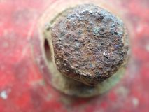 Rusty Bolt Imagenes de archivo