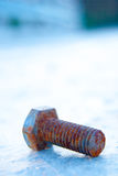 Rusty bolt Royalty Free Stock Image