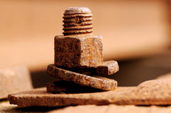 Rusty bolt Stock Image