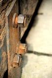 Rusty bolts Royalty Free Stock Photo