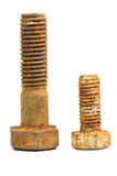 Rusty bolts Stock Photos