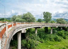 Rusty bridge Royalty Free Stock Image