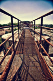 Rusty Bridge Stock Photo