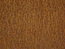 Rusty Brown Metal Pattern Background Royalty Free Stock Image