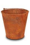 Rusty bucket (Clipping path) Stock Photos