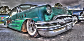 Rusty Buick Royalty Free Stock Photo