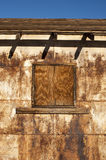 Rusty building texture Stock Images