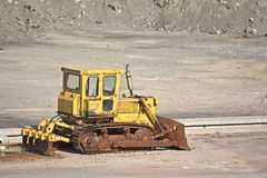 Rusty Buldozer Stock Images
