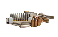 Rusty Bullets and Bullet Shells Stock Images