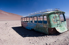 Rusty Bus Stock Photography