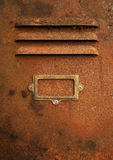 Rusty cabinet w/path Royalty Free Stock Photo