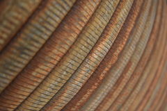 Rusty Cable Spool Royalty Free Stock Photos