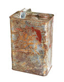 Rusty can Royalty Free Stock Photos