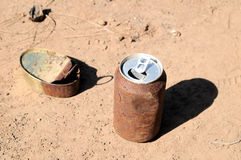 Rusty Can Royalty Free Stock Images