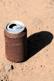 Rusty Can Royalty Free Stock Photography