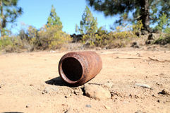 Rusty Can Royalty Free Stock Photo
