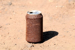 Rusty Can Stock Image