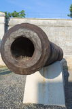 Rusty Cannon Closeup anziano Immagini Stock Libere da Diritti