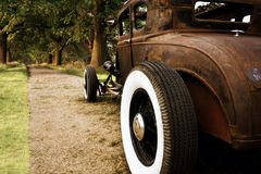 Rusty car Royalty Free Stock Images