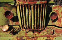 Rusty car Royalty Free Stock Image