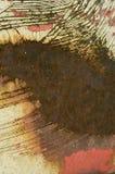 Rusty Car Bonnet imagem de stock royalty free