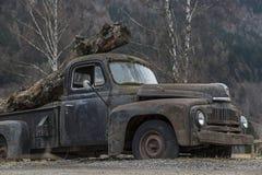 Rusty car Royalty Free Stock Photos