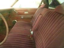 Rusty Car im Altmetall-Yard Stockfotografie