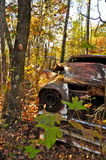 Rusty Car in Providence Canyon Stock Photos